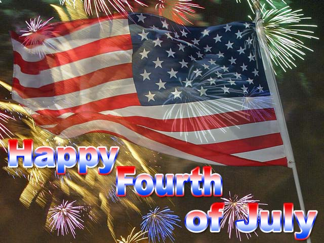 Happy Fourth of July Wallpaper