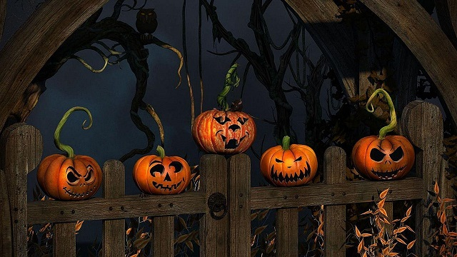 Animated Halloween Pics