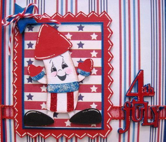 Happy 4th of July Greetings Cards