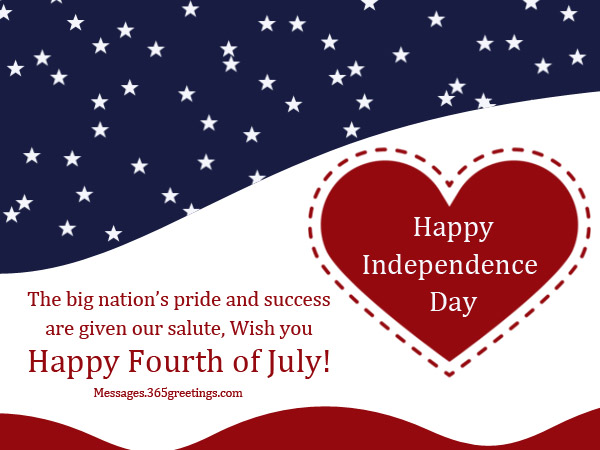 Happy Fourth of July Greetings Cards