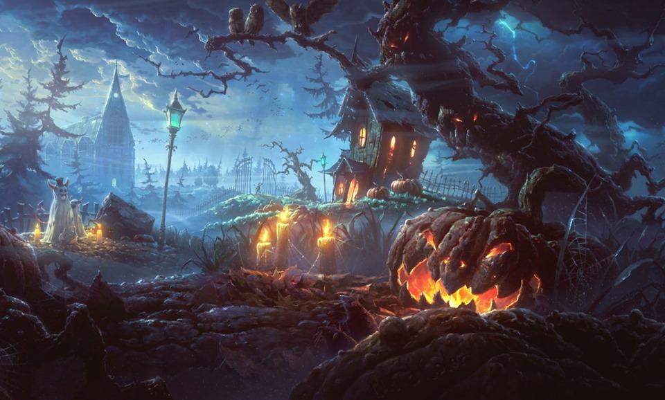 Halloween Facebook profile Pictures